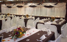 Fall Wedding Linens and Decor