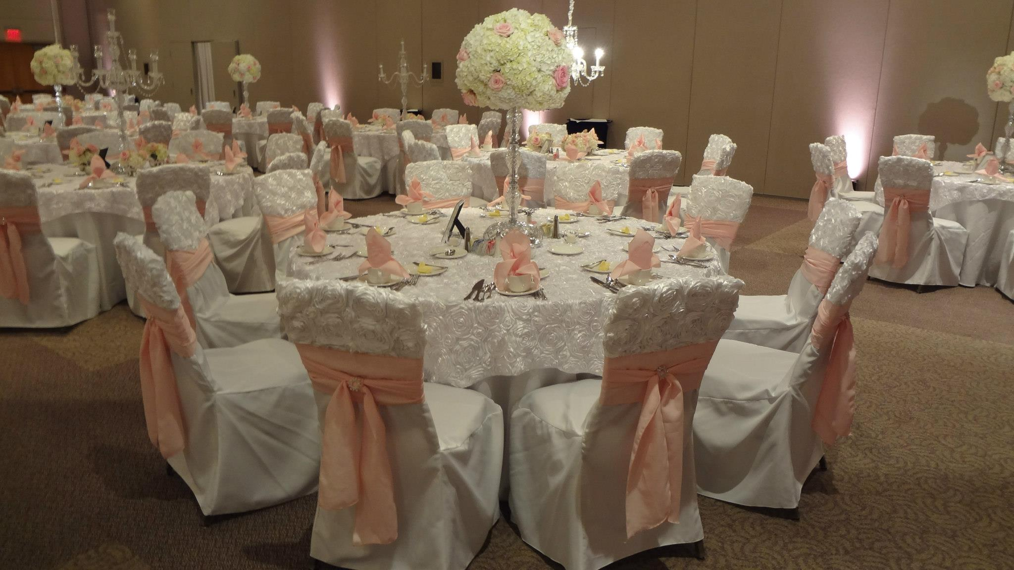Exclusive Linens & Chair Covers